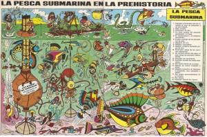 La pesca submarina en la Edad Media